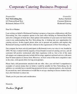 8 catering proposal templates free sample example With how to write a catering proposal letter