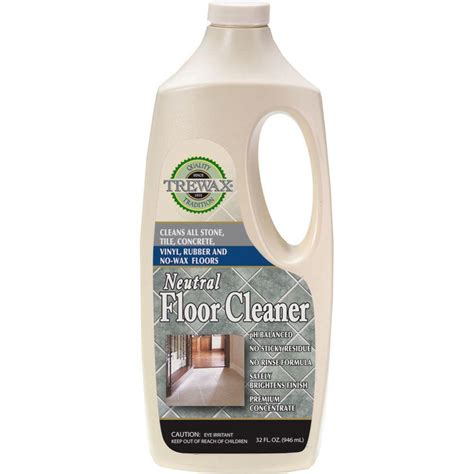 trewax  oz neutral floor cleaner concentrate  pack