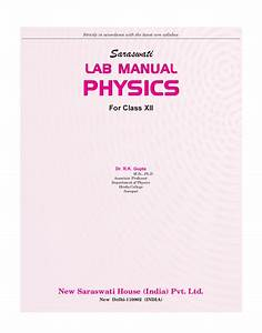 Download Saraswati Lab Manual Physics Class