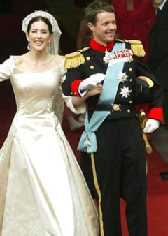 wedding  frederik crown prince  denmark  mary