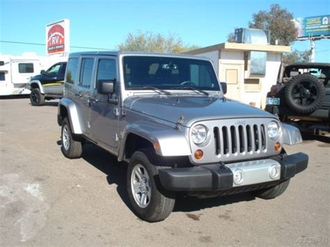 jeep wrangler 4 door silver jeep sahara wrangler unlimited silver 4 door hard top