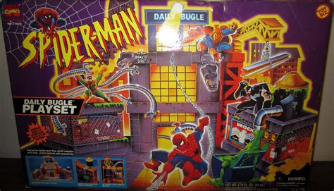 Octopus Decorations by Daily Bugle Playset Spider Man Animated Series
