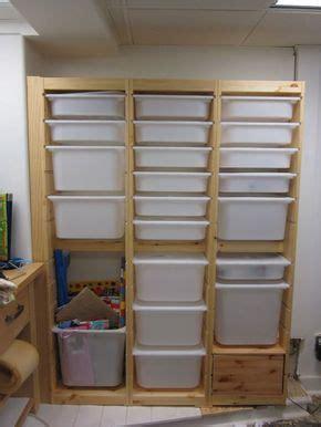 workshop storage plastic drawers trays  ikeame