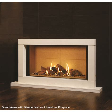 in wall fireplace grand azure designer in the wall gas