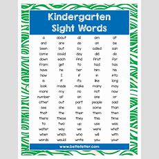 Activities For Kids Sight Words  Reading And Writing Tips  Visual Learners  Bette Fetter