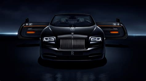 Rolls Royce Dawn Black Badge 2017 4k Wallpapers Hd