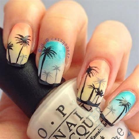 palm tree nail design 40 palm tree nail ideas nenuno creative