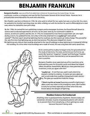 benjamin franklin biography homeschooling benjamin