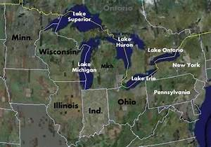 Fishing And Fishing Maps For The Us Great Lakes