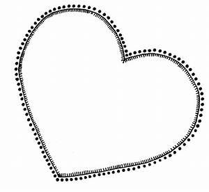 Heart Outlines Clip Art - ClipArt Best