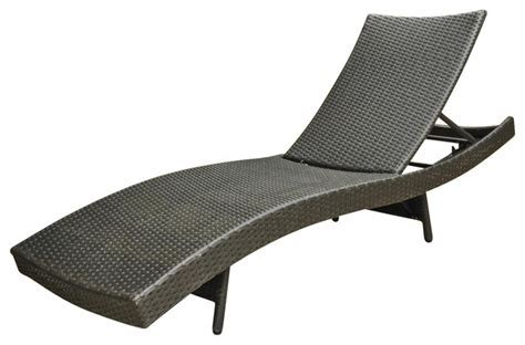 chaise haute multiposition wicker resin aluminum multi position patio chaise
