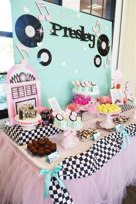 sock hop birthday party   party planning