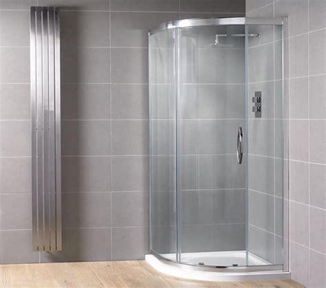 aquadart venturi    mm single door shower quadrant