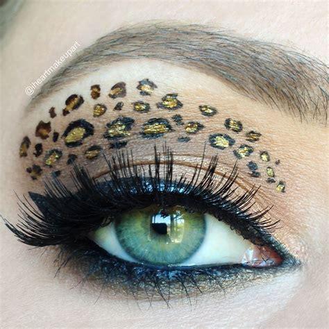 leopard make up leopard look for makeup tutorial eye makeup makeup makeup