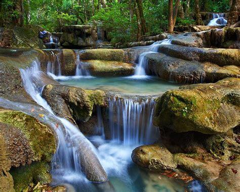 Erawan National Park Kanchanaburi Thailand Naret