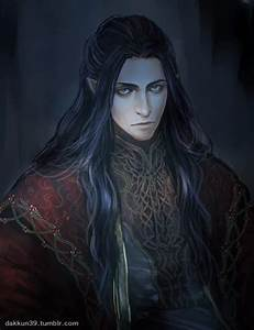 I absolutely love this painting Fëanor by dakkun39.tumblr ...