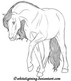 Horse Line Art Drawings