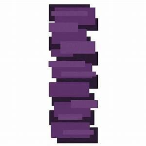 tapis sur mesure violet de couloir design pebbles par angelo With tapis couloir avec canapé convertible home 24