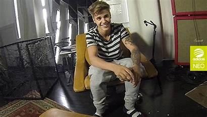 Bieber Justin Neo Adidas Smile Photoshoot Smiling