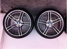 """FS OEM BMW Performance 19"""" Style 313 """"M"""" Wheels and Tires"""
