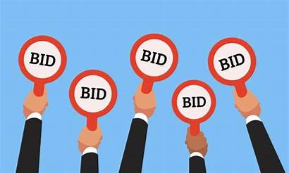Auction Vector Clip Bid Competitive Numbers Paddles