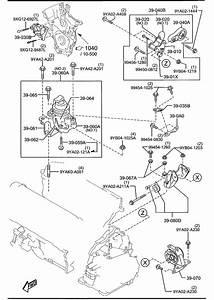 Mazda Cx-9 Bracket No 4  Engine  Mount  Brkt