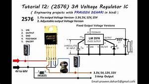 2596  3a Voltage Regulator Ic   Tutorial 12