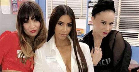 Kim Kardashian Attends 20th High School Reunion