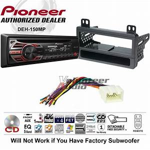 Pioneer Cd Car Stereo Radio Kit Dash Installation Mounting
