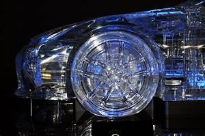 Tokyo Motor Show 2009: Transparent Acrylic Lexus LFA By ...  Transparent
