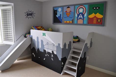 chambre pour petit gar n déco chambre garcon heros
