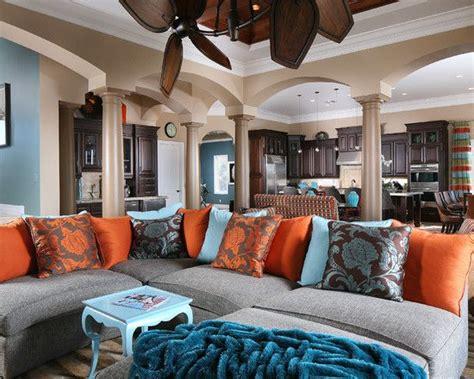 Burnt orange and brown living room decor acnn decor. Living Room Burnt Orange Couch Design, Pictures, Remodel ...