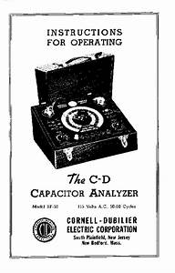 Cornell Dubilier Electronics -- Bf-50
