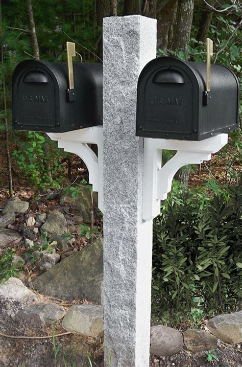 17 best images about granite mailbox posts accessories
