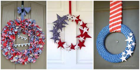 diy   july wreaths easy ideas  fourth  july