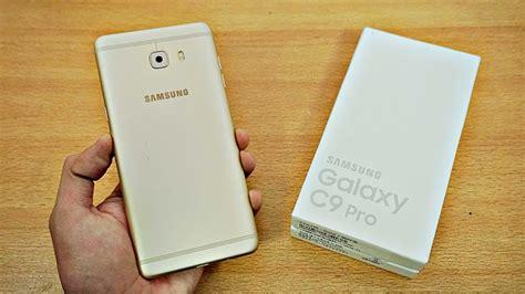 samsung galaxy c9 pro unboxing 4k youtube