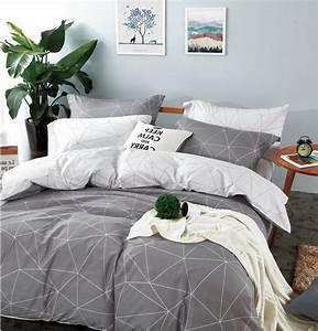 Amazon, Com, Eikei, Home, Minimal, Style, Geometric, Shapes, Duvet, Quilt, Cover, Modern, Scandinavian