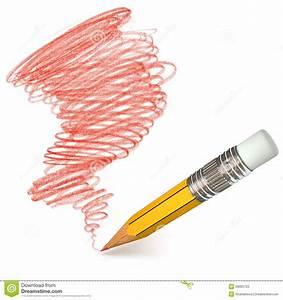 Pencil Shading. Hand-drawn Stock Photos - Image: 28065723
