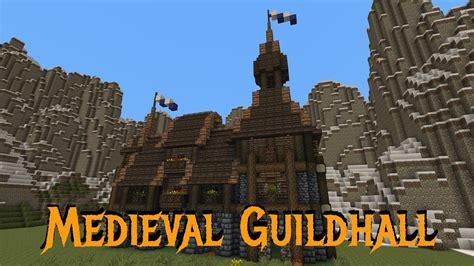 minecraft gundahar tutorials medieval guildhall