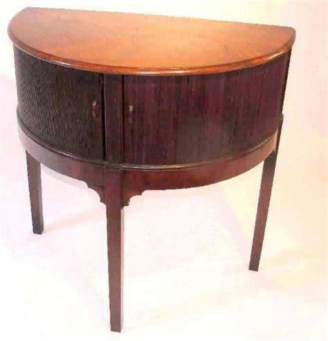 half circle side table georgian half round side table circa 1780 361112