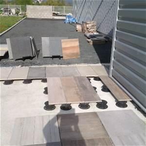 Dalle Sur Plots : carrelage exterieur sur plot dikke houten balken ~ Farleysfitness.com Idées de Décoration