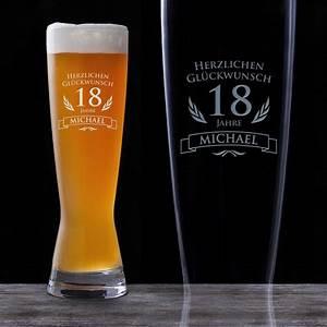 Geburtstag Berechnen : weizenglas zum 18 geburtstag personalisiert bierglas graviert ~ Themetempest.com Abrechnung
