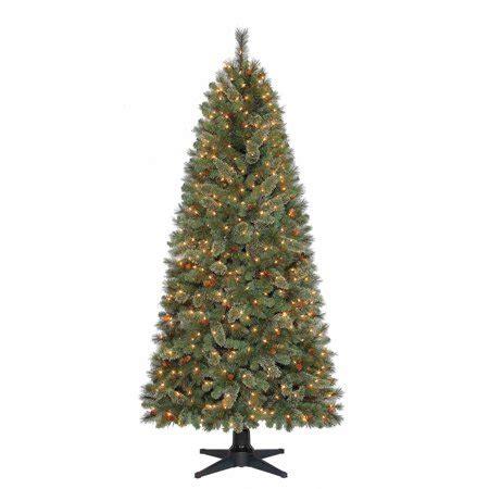 christmas tree turning brown time 7ft brookfield fir qstree clr walmart