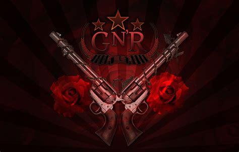 Photo Wallpaper Trunks Roses Logo Rock Guns N Logo