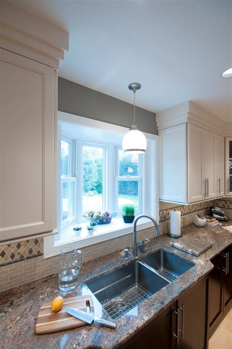 lighting  kitchen sink kitchen traditional