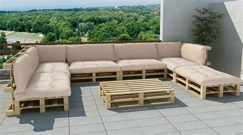 überraschend Terassen Sofa Aus Paletten
