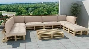 Sitzecke Aus Paletten : sofa aus paletten ein praktisches m bel f r drinnen und drau en paletten lounge sofa aus ~ Watch28wear.com Haus und Dekorationen