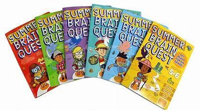 Quest Brain Summer Workbooks Books Fun Slide