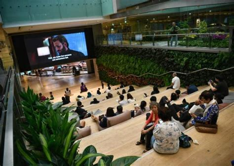 upgraded changi airport terminal  basement features