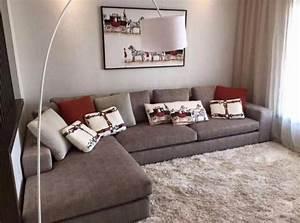salon moderne engris idees de decoration capreolus With idee couleur pour salon 8 charme de la decoration de lit deco maison moderne